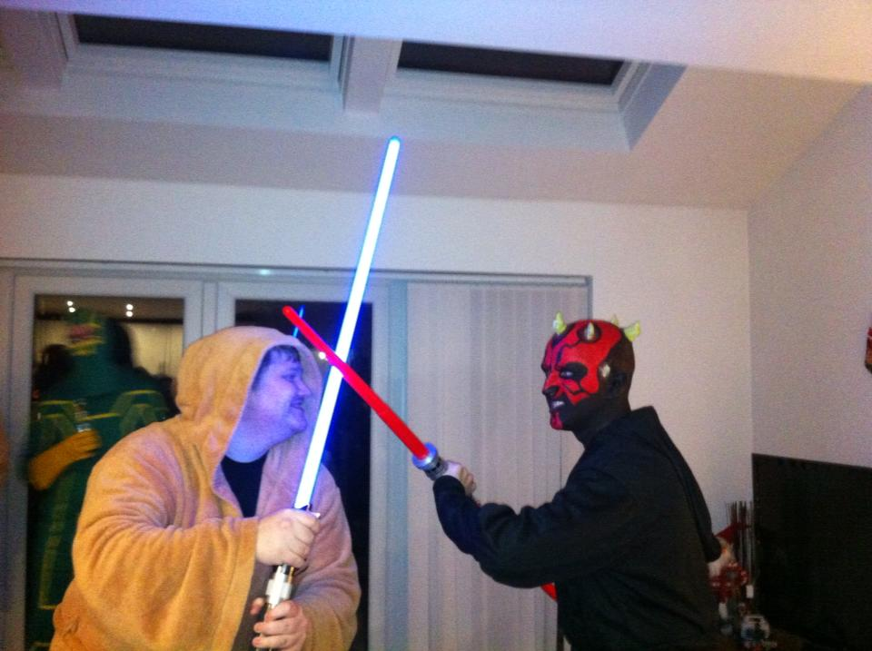 Darth Maul vs Gedi
