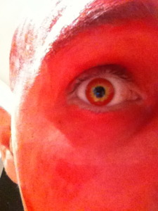 Darth Maul style contact lenses
