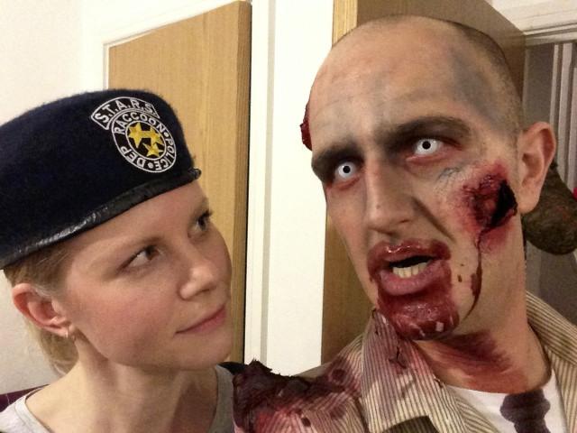 Resident Evil Zombie + Jill Valentine